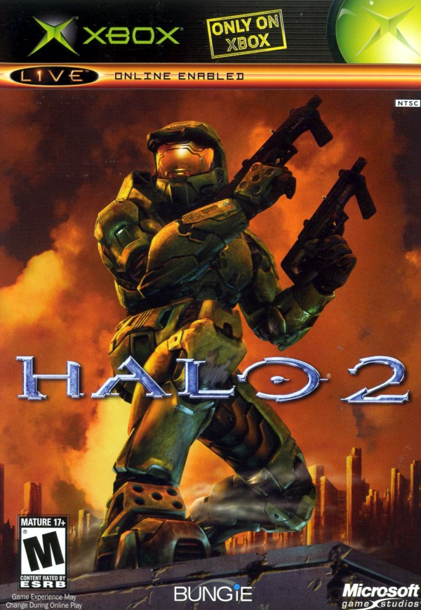 Halo 2 cover is weird, I mean orangelue/green doesn't fit too well.