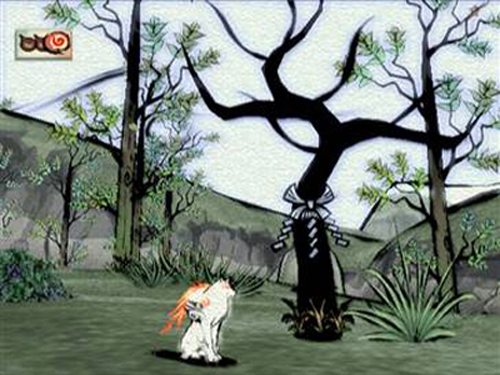 Okami black tree