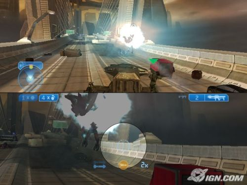 halo 2 split screen tank