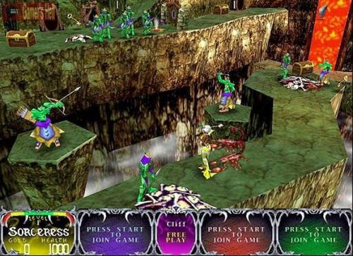 Gauntlet Legends Screenshot 1