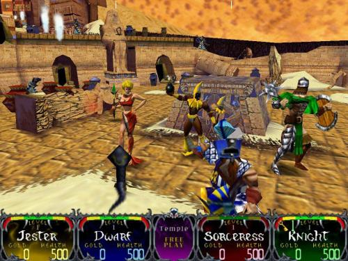 Gauntlet Legends Screenshot 3
