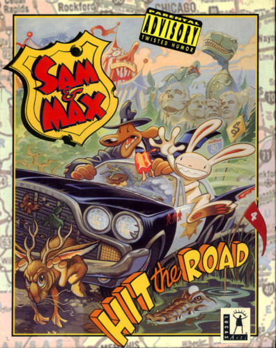 Sam & Max Box Art