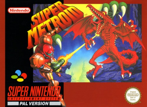 Super Metroid Pal Box