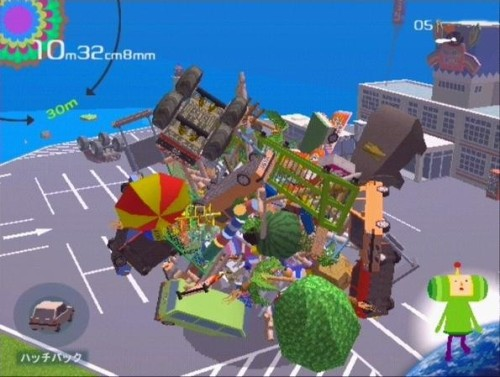 katamari damacy building