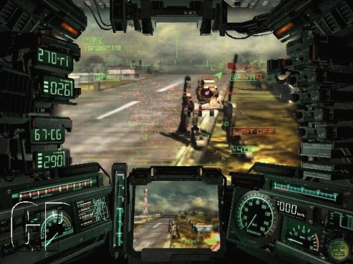 steel battalion screenshot 3