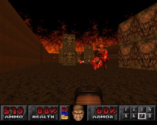 Doom playstation cyperdemon