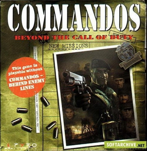Commandos Beyond The Call Of Duty Box
