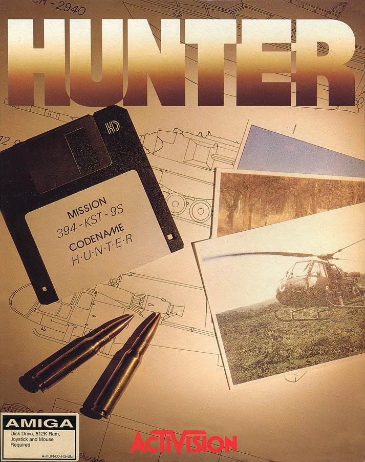 Hunter (Amiga, 1991)