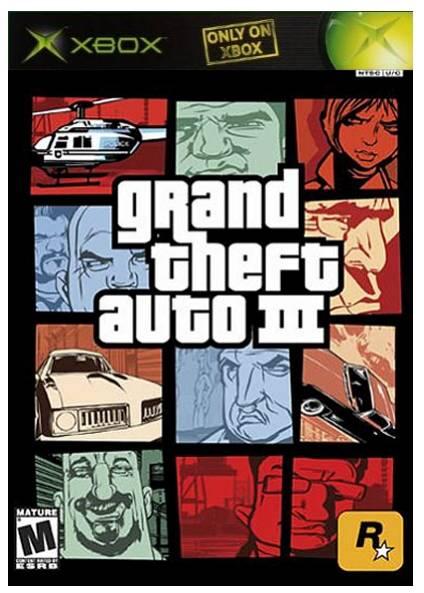 Grand Theft Auto III (Xbox, 2004)