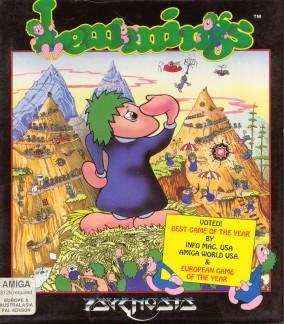 Lemmings (Amiga 500, 1991)